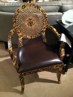 I own two of these chairs.  Definite conversation piece.