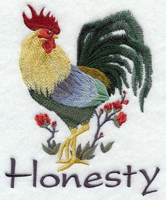 ASIAN ROOSTER of HONESTY