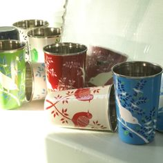 Enamelware cups from nkuku.com