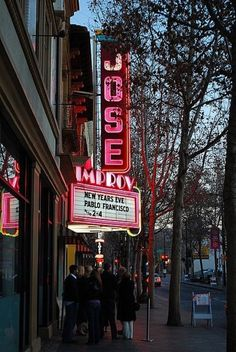 Improv Comedy Club, San Jose, CA.  Miss Cherry bought me tickets for a show on my 21st, Britt and Laurie made it too!