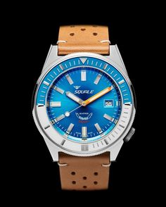 Squale Matic  60 atmos   Automatic Movement   Domed Sapphire