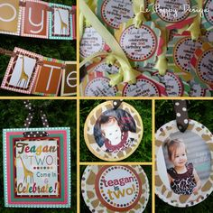 Giraffe Birthday Party Ideas