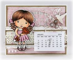 Bikuben blogg: Bordkalender med Heart Key Marci