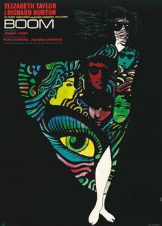 "9. ""Boom"" de Joseph Losey avec Liz Taylor, Richard Burton. 1967"