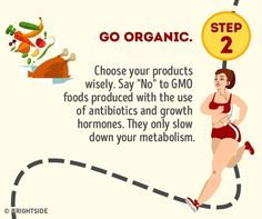 No diet can help if your metabolism is a lazybones! Fast Metabolism Diet, Boost Your Metabolism, Growth Hormone, Mets, Slow Down, Fitness Tips, Lose Weight, Health, Important