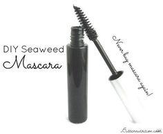 DIY Makeup Tutorials : Seaweed Mascara   Easy Makeup Recipe Ideas For DIY Cosmetics Makeup Tutorials