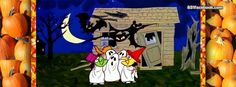 Charlie Brown Peanuts Halloween Facebook Timeline Covers