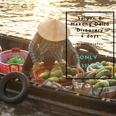 [HOT OFFER] FREE Airport pick up OR Visa letter  (Applied for departure date of 7th March 2018 only) Tour departs once per month, please refer to our website for more information about the itinerary and available dates: https://www.hellovietnam.com/grouptours/saigon-mekong-delta-discovery-4-days-172.html  Gracie D | LinkedIn