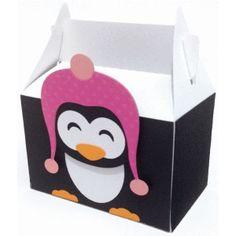 Silhouette Design Store - View Design #60224: cute penguin box