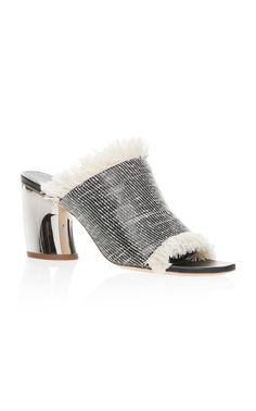 Woven Mule  by PROENZA SCHOULER for Preorder on Moda Operandi