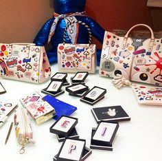 Welcome to the @AnyaHindmarch #stickershop! If only our school stationary looked this good!