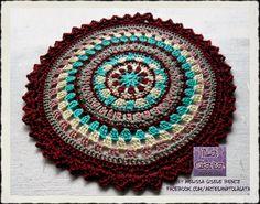 Mandala Crochet - by LA GATA - Melissa Gisele Bencz