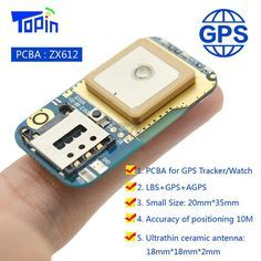 ZX612 Mini GSM GPS LBS Tracker Positioner Locator DIY High-integration PCBA SOS Alarm Platform APP Tracking for Children Vehicle
