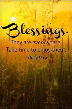 Blessings.