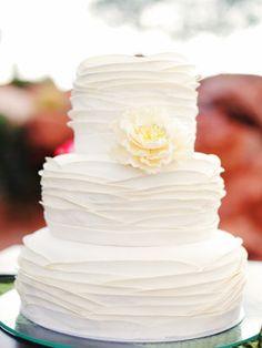 Wedding, White, Cake, Modern, Ivory, Contemporary, Lacey easton