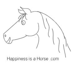 Image result for how to draw a horse easy