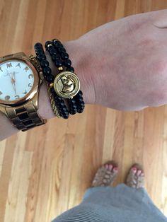 #Dog #Button #Bracelet - custom made