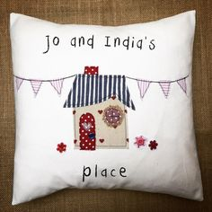 Personalised house warming cushion House warming gift New