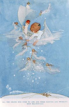 """Hilda Cowham, Sketch Fairies"" by ollerina (Karen Hurd) 