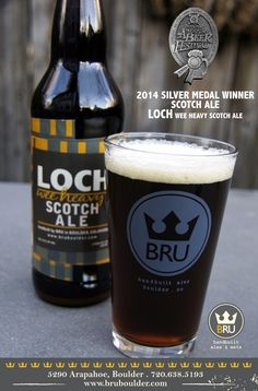 BRU handbuilt ales wins silver at the 2014 Great American Beer Festival in the Scotch Ale category. #gabf #craftbeer #bru #bruboulder #beer #coloradocraftbeer #greatamericanbeerfestival