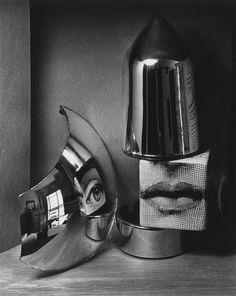 André Kertész - Oeil et levres, 1970
