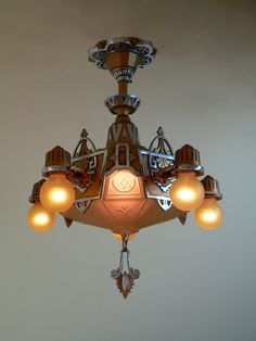 701d62fc1f25 53 Best Art Deco chandelier images in 2019 | Art deco chandelier ...