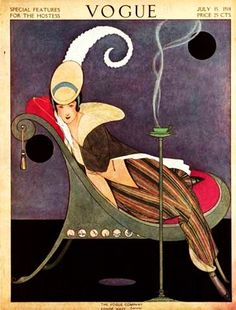 prior pin: Vogue Cover, 1914 July  , Illustrated by Helen Dryden