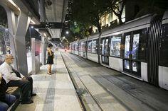 VLT (Veículo leve sobre trilhos) - Tramways - Light Rail - Rio de Janeiro