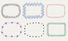 Illustration of frame Doodle Drawings, Easy Drawings, Doodle Art, Pen Doodles, Doodle Borders, Japanese Drawings, Pen Illustration, Envelope Art, Bullet Journal Art