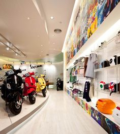 Vespa Gallery by Supermachine Studio, Bangkok - Thailand