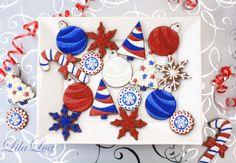 LilaLoa: Christmas Card Cookies