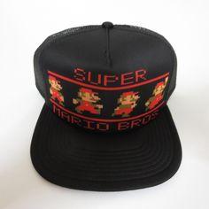 1149347a8 44 Best Super Mario Bros Hats & Snapbacks images in 2018 | Super ...