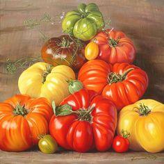 Gerard Fally - Peintre jardinier