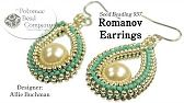 Sidonia's handmade jewelry - Blooming Romance beaded necklace tutorial - YouTube