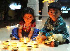 preparing for Diwali:)