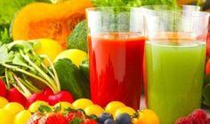plan for å rense hele kroppen - Veien til Helse Juice Smoothie, Smoothie Recipes, Dieta Detox 3 Dias, Sumo Detox, Acerola, Juice Plus, Fresh Fruits And Vegetables, Juicing Vegetables, Migraine