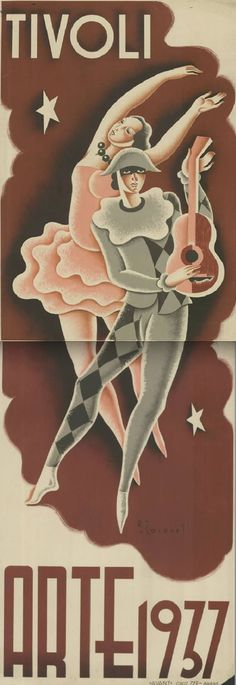 Designed by Rafael Caseres, 1937, Teatre Tívoli, Barcelona.