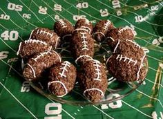 Footballs almost here and im already planning for party ideas!!