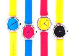 CMYK Neon Watches ☻                                                                                                                                                                  ⇜•ṄεΦЙ❉€яᗛƶΣ•⇝