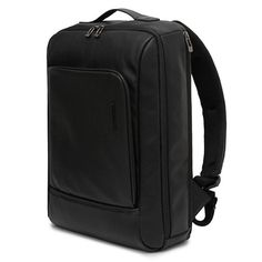 Square Leather Backpack Laptop Bags for Men TOPPU 631A  (1)