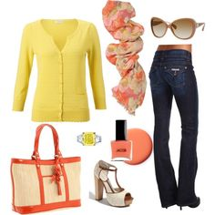 Sunshine and Melon, created by katelyn327 on Polyvore