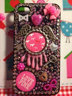 Victorias Secret Inspired Handmade Phone Cover. €45.00, via Etsy.