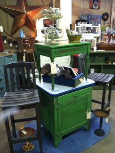 Red Swing Market gets ready for May Sale at Restoration Emporium this weekend! KC's West Bottoms is the place to be for repurposed, restored, rejuvenated furniture and home decor.