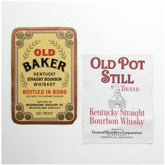 Vintage Moonshine Label Vintage whiskey labels