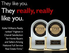 """Keller Williams Realty Ranked """"Highest in Customer Satisfaction Among Home Buyer and Seller Segments"""" by J.D. Power and Associates"""