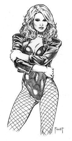 Black Canary By Mitch Foust