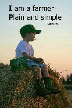 I Am a Farmer...