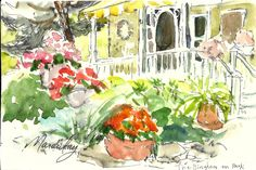 Pocket Sketching Workshop with Kath Macaulay at Chester Springs Studio in Chester Springs, Chester County.