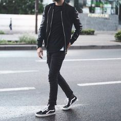 """""""Chic is the new black !""""  #nouvelleco #menswear #mode #homme #black"""