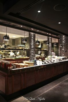 the bourbon kings cross 17 - Restaurant Open Kitchen Design